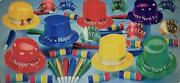 Multicolored New Years Eve Party Accessories Kit Party Supplies For 50 People