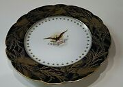 Benjamin Harrison Owned Used By Him Plate White House Presidential China Signed