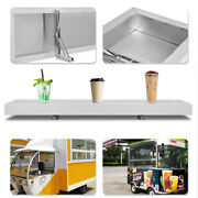 Aluminum Alloy Drop-down Foldable Concession Stands And Food Trucks 4 Feet