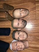 1/6 Head Sculpts And Clothing Accessories Not Hot Toys
