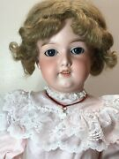 """27"""" Antique Armand Marseille Germany 390 12 A And M Bisque Adorable Brunette Sf2"""