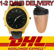 New Spy Bluetooth Watch Earpiece Wireless Gadget Bug Covert Invisible Ear