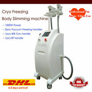 Cool Fat Freezing Cold Slimming Cellulite Reduction Radio Frequency Cavitation