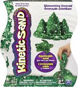Kinetic Squeezable Play Sand 1lb Shimmering Onyx Never Dries Outgreen And Purple
