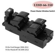 Ue8d-66-350 Electric Power Window Master Control Switch For Ford Ranger 06-12