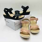 Hush Puppies Womenand039s Lyricale Quarter Strap Sandals Msrp 80