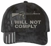 I Will Not Comply 2nd Amendment Embroidered Hat - Various Hat Options
