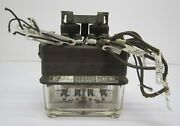 Vtg General Railway Signal Type K Dc Relay 53000 Railroad Signal Glass As Is