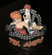 Mgm Animation Great Tex Avery - Droopy Red Hot And Wolfie Merveilles Sculpture