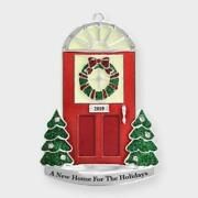 2019 1stfirst Christmasa New Home For The Holidays Red Door Ornamentnib