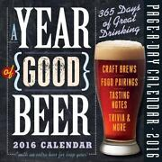 A Year Of Good Beer Page-a-day Calendar 2016, Workman Publishing, New
