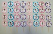 32 Doc Mcstuffins Personalized Cupcake Toppers Birthday Party