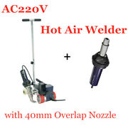 Ac220v Roofer Rw3400 Automatic Roofing Hot Air Welder With 40mm Overlap Nozzle