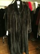 Chicago Fur Mart Size10.classic Brand New W/tags Female Ranch Mink Coat15000.00