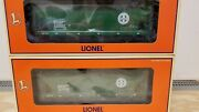 6-21754 Bnsf Acf 3 Bay Covered Hopper 2 Pack - Lionel