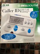 Bellsouth Caller Id With Call Waiting Ci 43 - 90 Name And Numbers 3 Line New