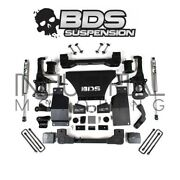 Bds Suspension 2019-2021 Chevy Gmc 1500 4wd 6 Inch Lift Kit Rear Fox Shock 1801h