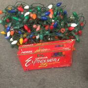 Vintage Noma Christmas Lights C9 Bulbs And So Much More See Pictures For Details