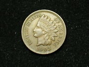 Must Go Sale Au 1903 Indian Head Cent Penny W/ Full Liberty And Diamonds 164h