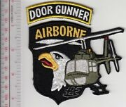 Us Army Vietnam Door Gunner 101st Airborne Division Airmobile Huey Helicopter C