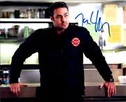 Taylor Kinney Signed 8x10 Photo Picture Autographed Very Nice + Coa