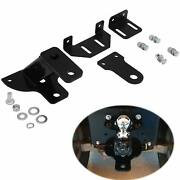 Universal Lawn Tractor Hitch 3-way Garden Trailer Hitch With Support Brace Kit