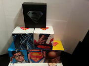2013 Superman Coins, 7 Coins Including A Gold Coin, Selling As Set Only