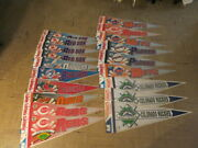 Mlb Wincraft 1991 Baseball Pennants Nos New Qty 19 Vintage Officially Licensed