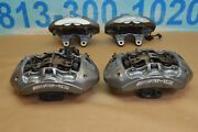 2013 Mercedes E63 Cls63 Amg Brembo Calipers Front And Rear 6 And 4 Piston Grey