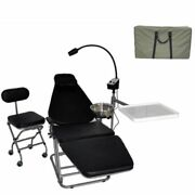 Portable Dental Chair Foldable Doctorand039s Chair And Operating Led Lamp And Nylon Bags