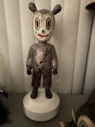 Gary Baseman Lladro The Guest Sculpture Limited Edition Ornament And Poster Set