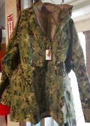 Reduced Price Nwu Type Iii Gortex Parka Large - Long With Liner