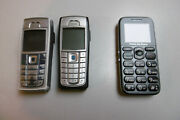 2x Nokia 6230i Phone And 1x Primo By Doro Phone