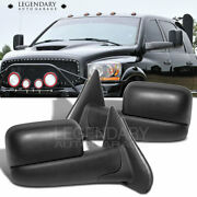 Towing Power Side View Mirrors Heated Pair 2002-2008 Ram 1500 03-09 Ram 2500
