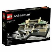 Lego Architecture Imperial Hotel 21017 Discontinued By Manufacturer