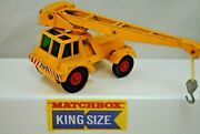 Matchbox King Size K-14 Taylor Jumbo Crane Tractor Truck With 360 Rotation Boom