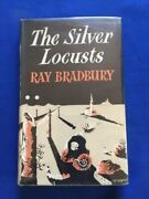 The Silver Locusts - 1st Uk Ed Of The Martian Chronicles Signed By Ray Bradbury