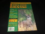 October 1982 Bow And Arrow Hunting Magazine Vtg Deer Hunting Decoys Archery Bows