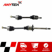 Pair Front Cv Axle Shaft For 2002 2003 2004 2005 2006 Nissan Altima 2.5l W/ A.t.