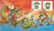 Pnc Australia/christmas Island 2020 Chinese New Year Dragon Pm 1 Coin L/e 8888