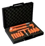 Sibille Insulated Torque Wrench And Socket Set Ms100v02 315mm 13pcs 3/8andprime Hex Drive