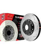 2 X Dba T3 Slotted Rotor For Holden Sunbird Lx Dba5010blks