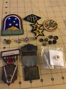 Ww2 Us Army Good Conduct Medal Efficiency In Box Lot