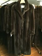 Chicago Fur Mart Size 20 Gorgeous Classic Brand New Ranch Female Mink Coat17000