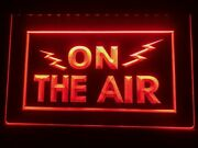 On The Air Lighted Sign Recording Studio On/off Led Display