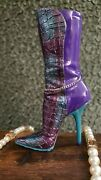 Just The Right Shoe Mutant Rose Boot - Nib Very Rare And Extremely Hard To Find.