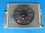 Aluminum Radiator And Fan For Bmw E36 M3 / Z3 /325td /320 323 328 1992-1999 Mt