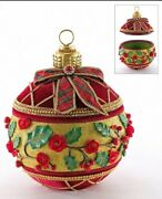 Katherine's Collection Christmas Wishes Ornament Box Table Display 28-928600 New