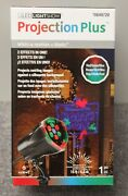 Christmas Light Show Projection Plus Whirl Static Yard Decorations North Pole