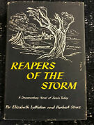 Reapers Of The Storm, By Elizabeth Lyttleton And Herb Sturz- 1958 -signed H/c Book